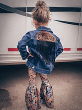 Load image into Gallery viewer, Cowgal Fringe Denim