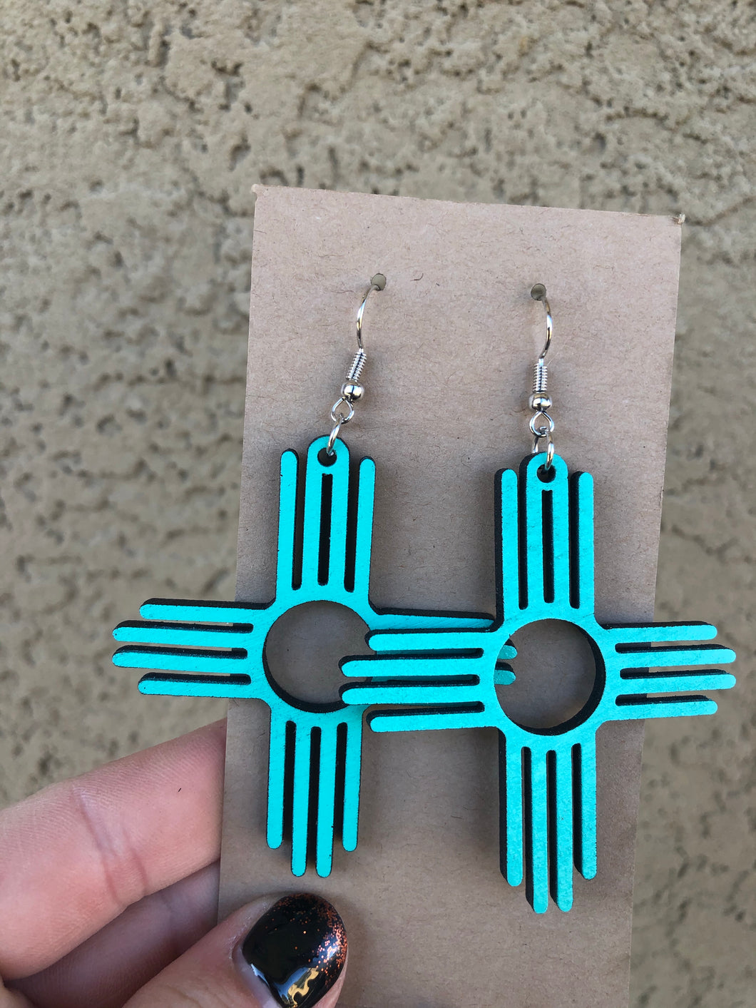 Small Zia Earrings