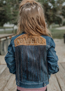 Cowgal Fringe Denim