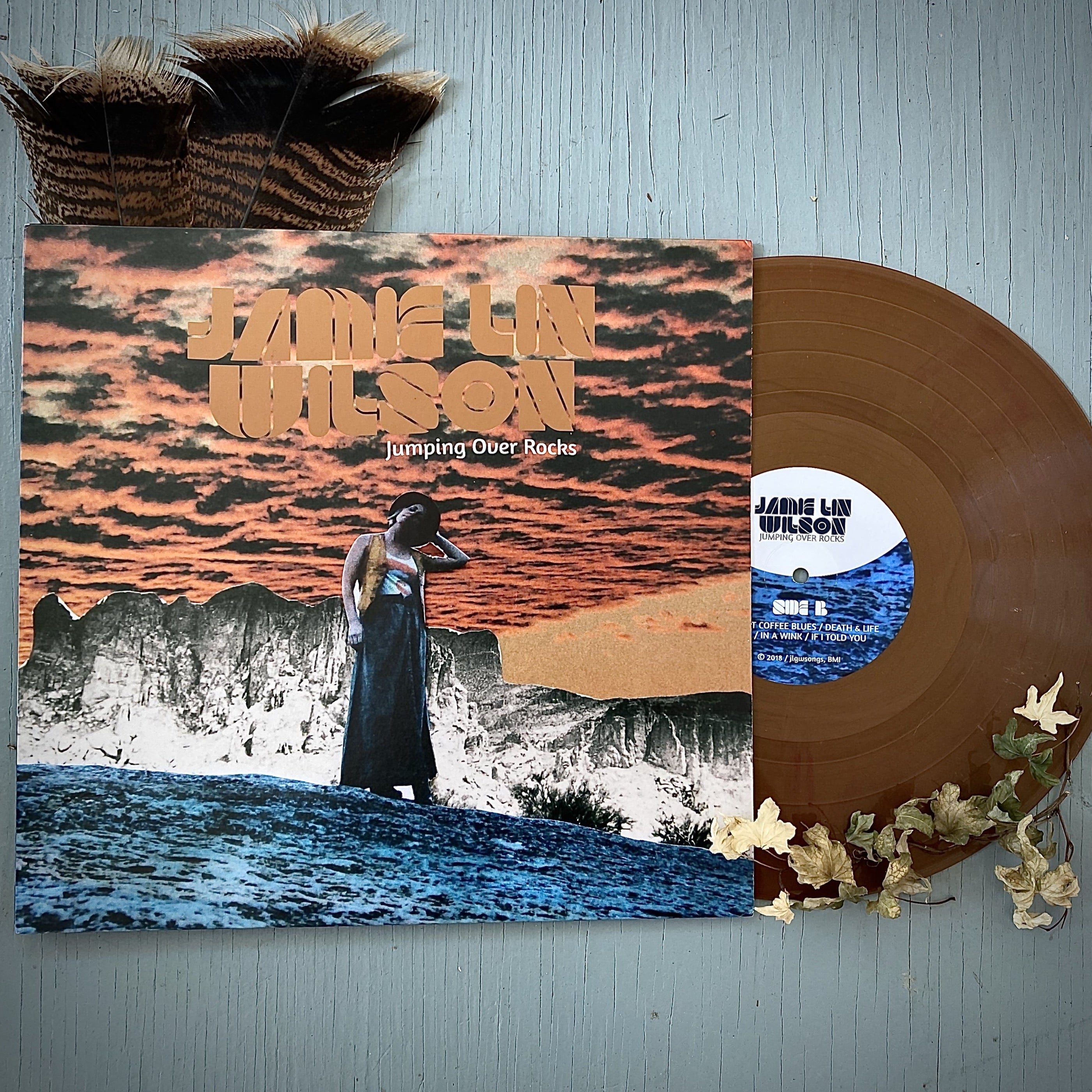 JUMPING OVER ROCKS COLORED VINYL
