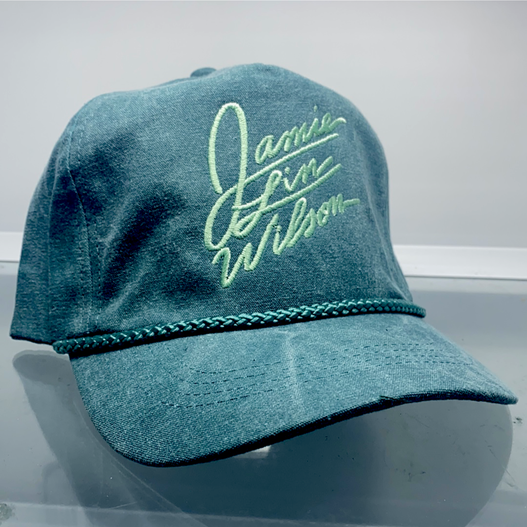 Green Signature 5-Panel Hat