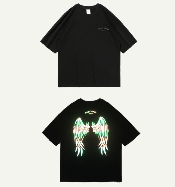 Chaos Angel Reflective Tee