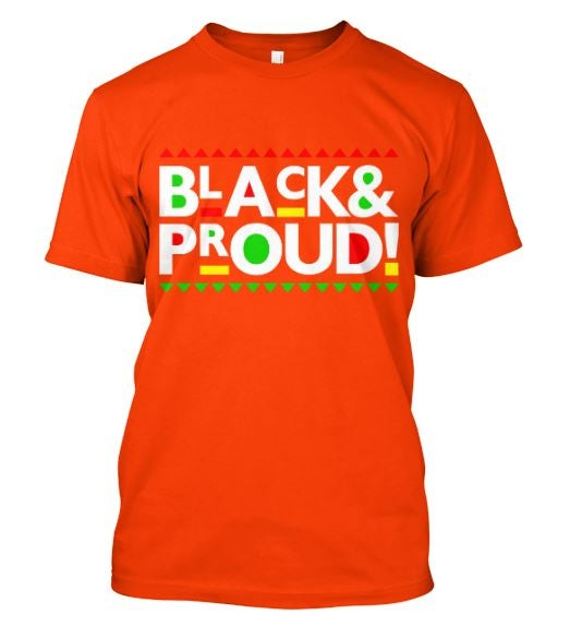 BLACK AND PROUD TEE