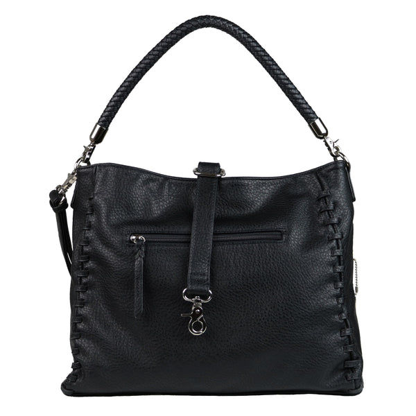 Lily Concealed Carry Purse Black Tote Bag by Lady Conceal
