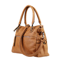 Jessica Concealed Carry Purse Cinnamon Satchel by Lady Conceal