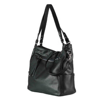 Brooklyn Concealed Carry Black Tote Bag by Lady Conceal