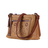 Hailey Concealed Carry Purse Cinnamon Crossbody by Lady Conceal