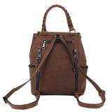 Allie Concealed Carry Leather Backpack by Lady Conceal