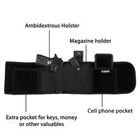 Concealed Carry Unisex Neoprene Belly Band Tactical Holster by Lady Conceal