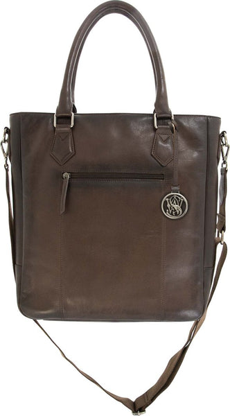 Genuine Leather Concealed Carry Flat Tote by Smith & Wesson
