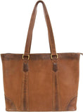 Genuine Leather Concealed Carry Travel Tote by Smith & Wesson