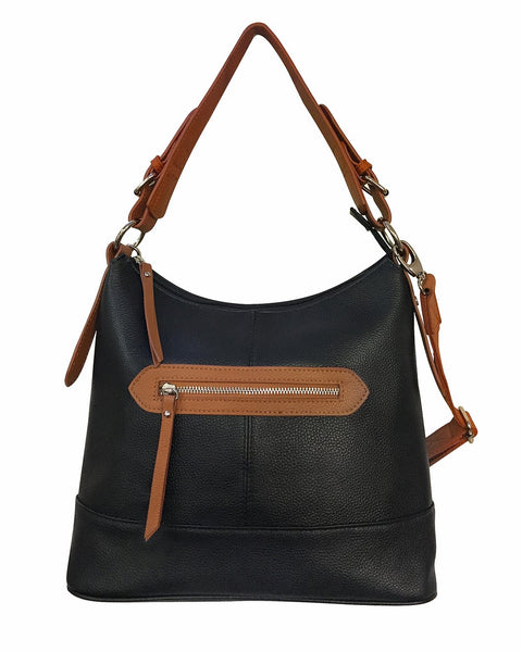 Cowhide Leather Concealed Carry Modern Tote