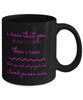 You are Perfect Black Mug Gift for Mother, Father, Grandparents, Family members