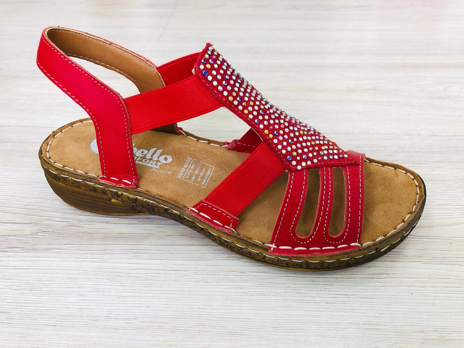 Sharon - Red - Sandals