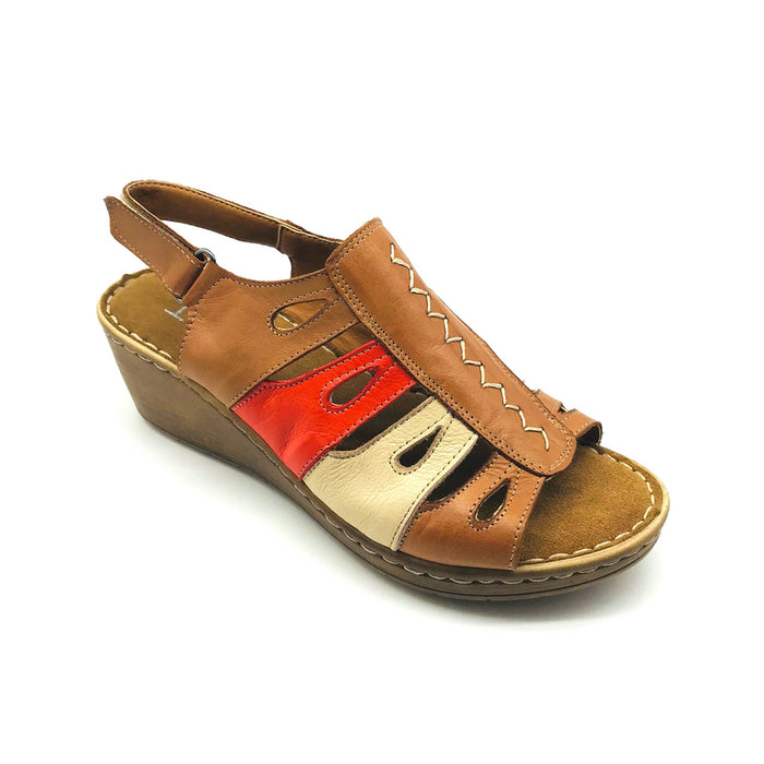 Sherry - Tan Multi - Sandals