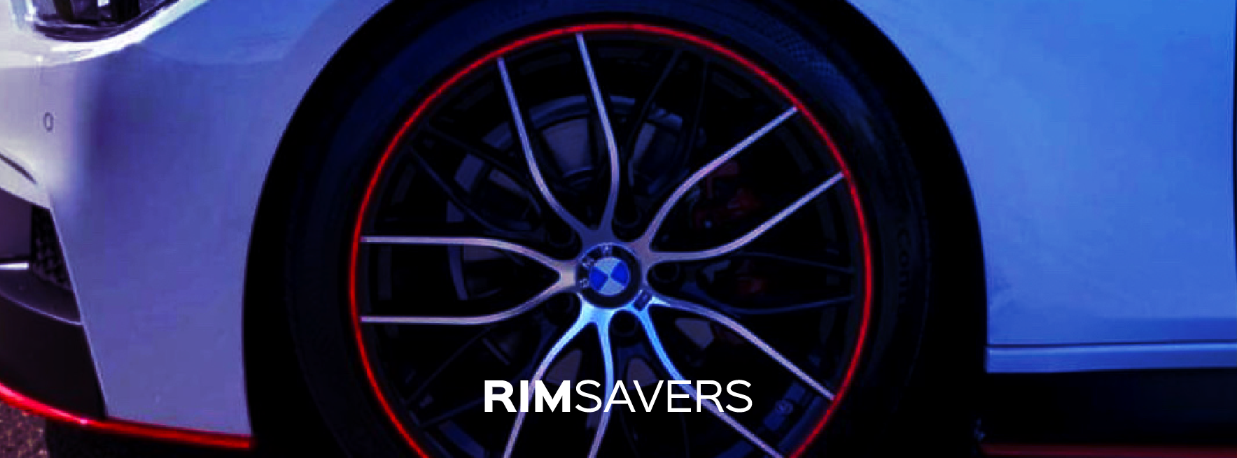 Rimsavers Alloy Wheel Rim Protectorrs on BMW