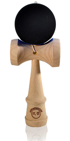 Jumbo Eclipse Kendama - Black Solid Rubber