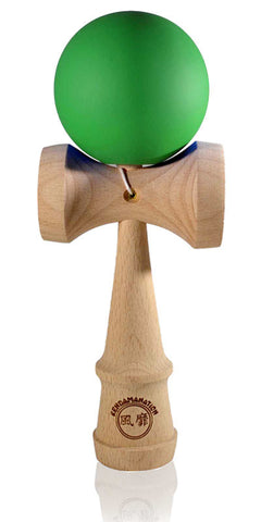 Jumbo Eclipse Kendama - Green Solid Rubber