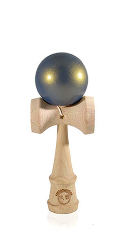 Micro Eclipse Kendama  - Blue Golden Metallic