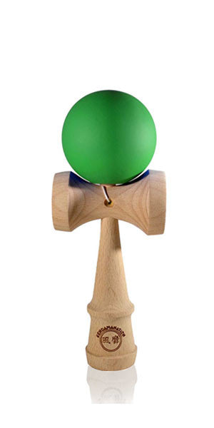 Micro Eclipse Kendama - Green Solid Rubber