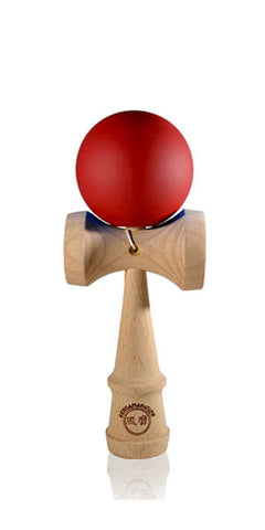 Micro Eclipse Kendama - Red Solid Rubber