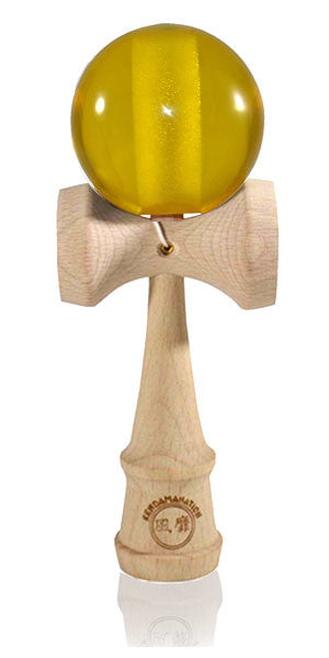Standard Eclipse Kendama Acrylic - Yellow