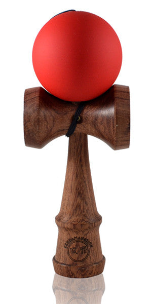 Standard Eclipse Kendama - Red Rubber Cherry Wood