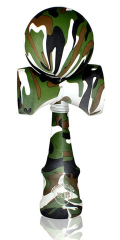 Standard Eclipse Kendama - Full Camo Rubber