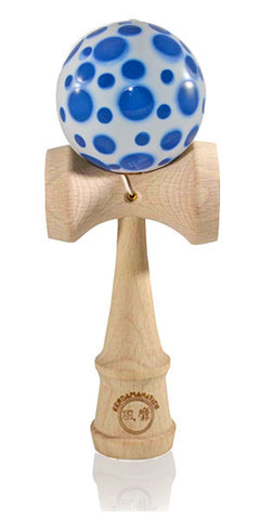Standard Eclipse Kendama Spottie - Blue and White