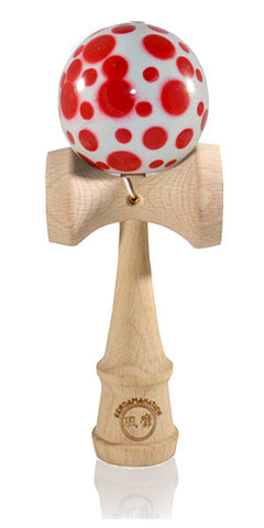 Standard Eclipse Kendama Spottie - Red and White