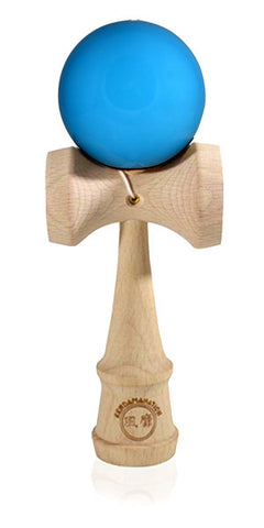 Standard Eclipse Kendama - Maple Wood Solid Glossy Blue