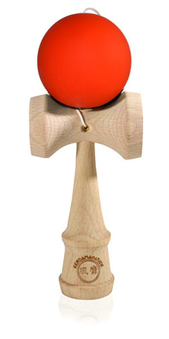 Standard Eclipse Kendama - Solid Silk Matte Orange