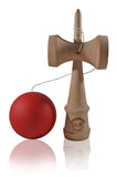 Jumbo Eclipse Kendama - Red Solid Rubber
