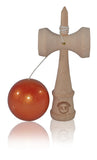 Standard Eclipse Kendama - Red Golden Metallic
