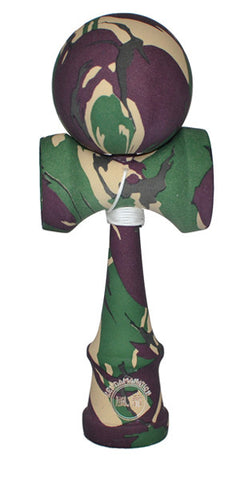 Standard Eclipse Kendama - Full Camo Multi Color Rubber