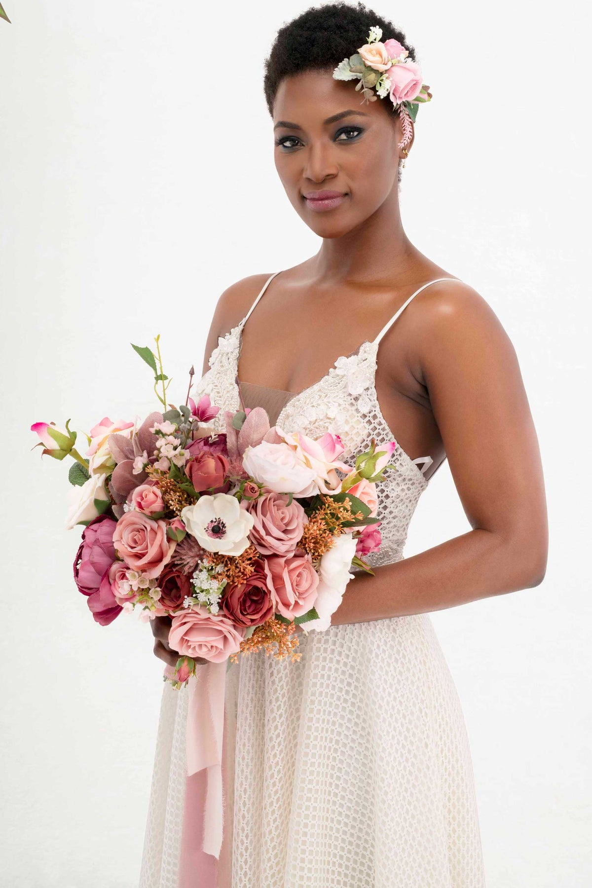 Bridal Bouquet - Romantic Dusty Pink