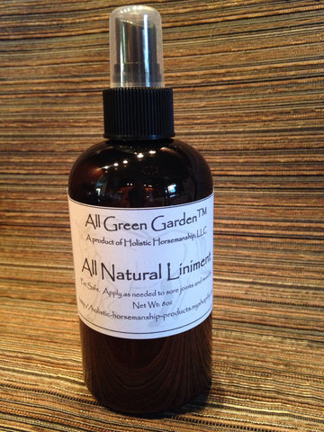 All-Natural Liniment Non-Burning