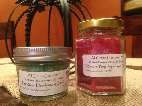 All-Natural Bug Repellant Candle