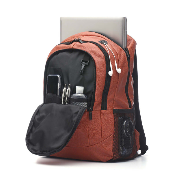 basketball backpack with headphones hole
