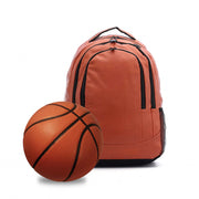 backpack that looks and feels like a basketball