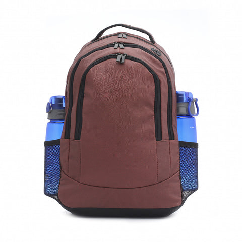 football backpack with water bottle pockets