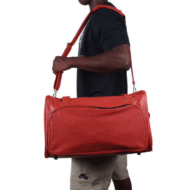 basketball duffel bag with shoulder strap