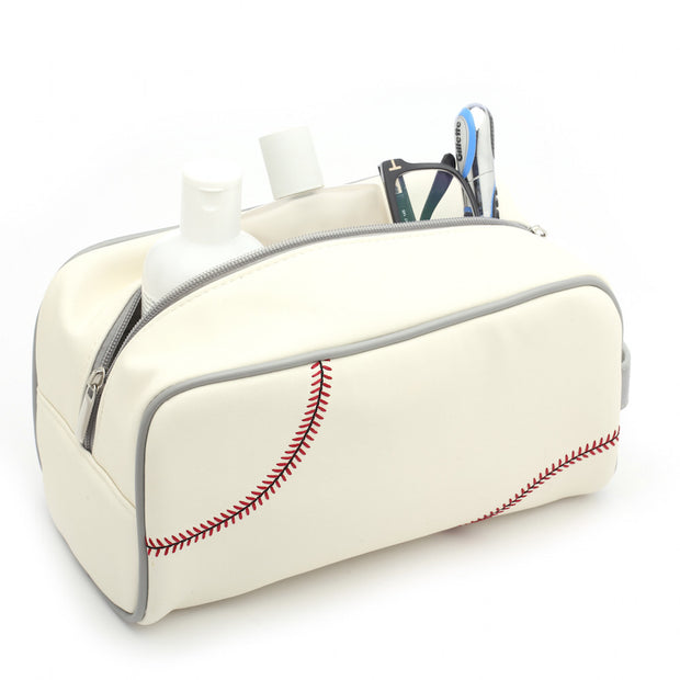 baseball toiletry bag travel kit