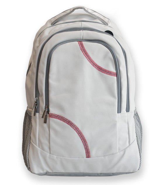 Baseball Backpack Made From Real Baseball Materials
