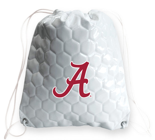 Alabama Crimson Tide Soccer Drawstring Bag