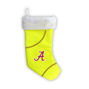 "Alabama Crimson Tide 18"" Softball Christmas Stocking"