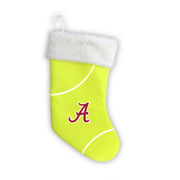 "Alabama Crimson Tide 18"" Tennis Christmas Stocking"