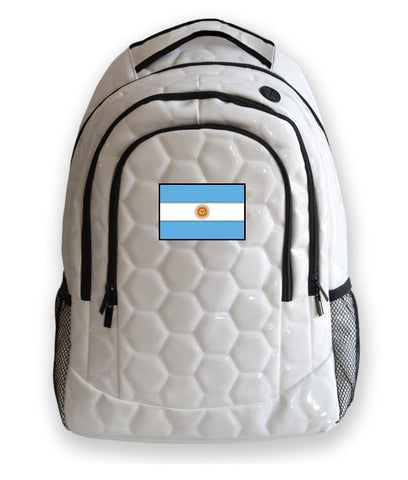 Argentina National Pride Soccer Backpack