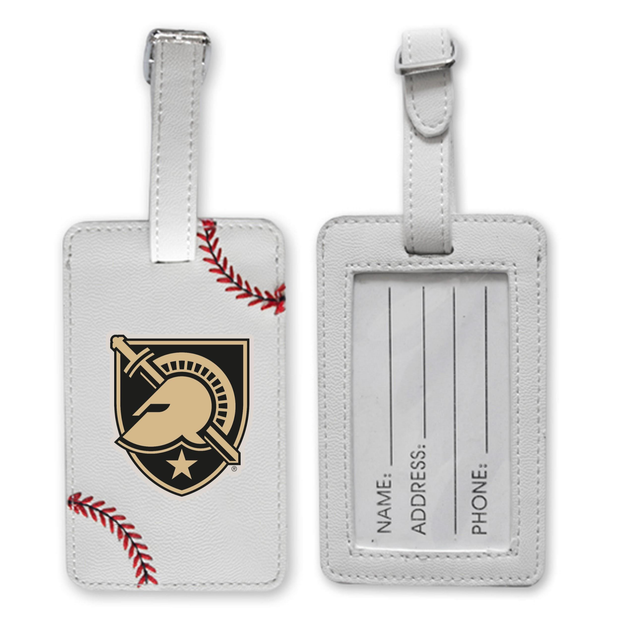 Army Black Knights Baseball Luggage Tag