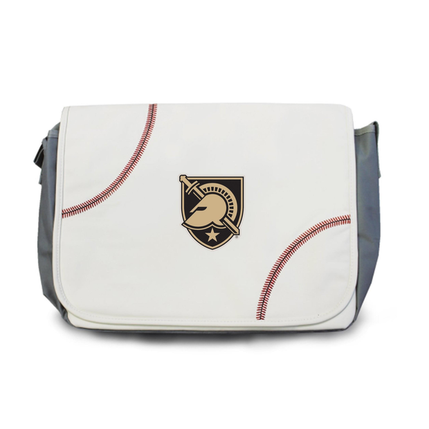Army Black Knights Baseball Messenger Bag